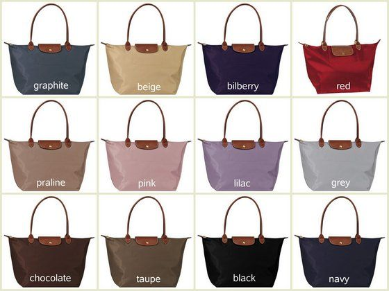 longchamp le pliage large. Graphite, Bilberry or Black are all gorgeous!