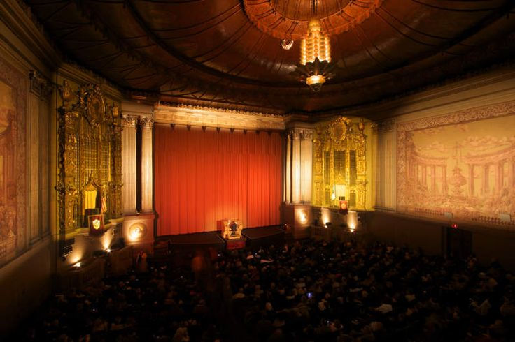 The 12 Coolest Movie Theaters in the World Castro Theater San Francisco, CA Go big or go home, right? Architects modeled the elaborate Castro Theatre after -- and in the same Spanish Colonial Baroque style as -- a Mexican cathedral in nearby Mission Dolores.