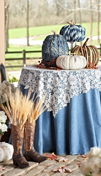 Lace Table Topper