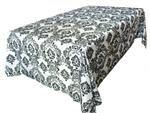 www.efavormart.com - flocking damask tablecloths, table linens, wholesale tablecloths, round tablecloths, rectangle tablecloths, banquet tablecloths, tablecloth rentals