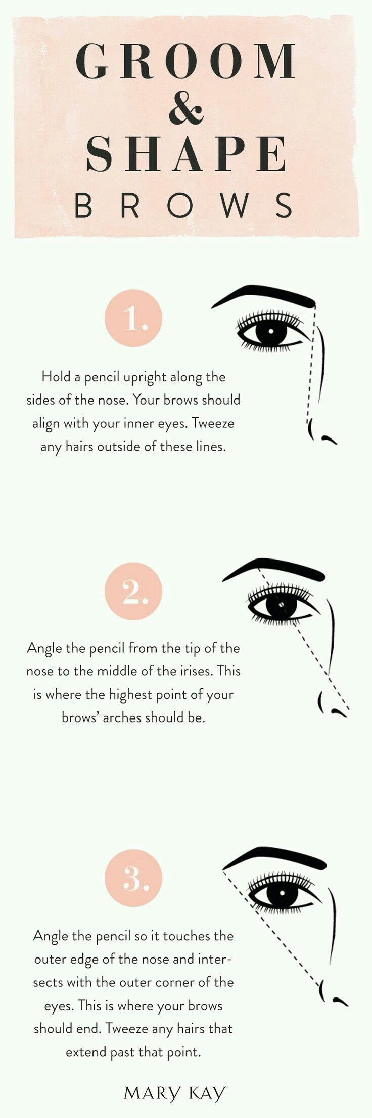 Great tips if you are tweezing yourself #youngermakeup