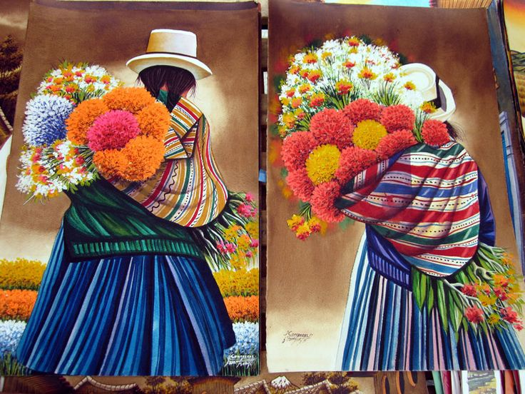 ANDEAN PAINTING PERU - Google Search