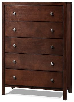 Bedroom Furniture-Devina 5 Drawer Chest
