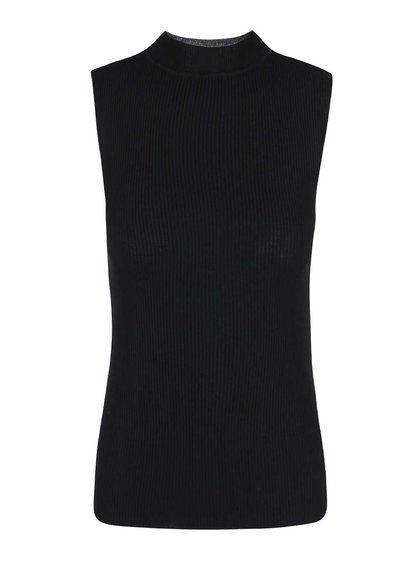 Čierny sveter bez rukávov Dorothy Perkins 25,95€