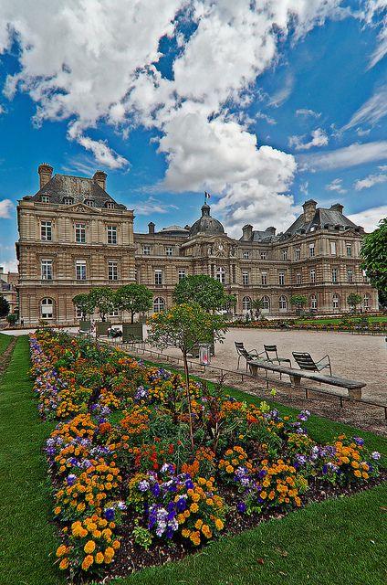 Palazzo del Lussemburgo . Luxembourg