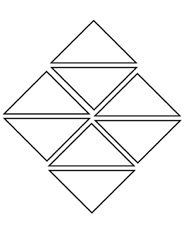 tangram coloring pages - photo#25
