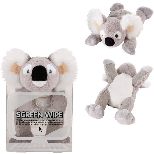 An excuse to have a toy on your desk? Koala Screen Wipe