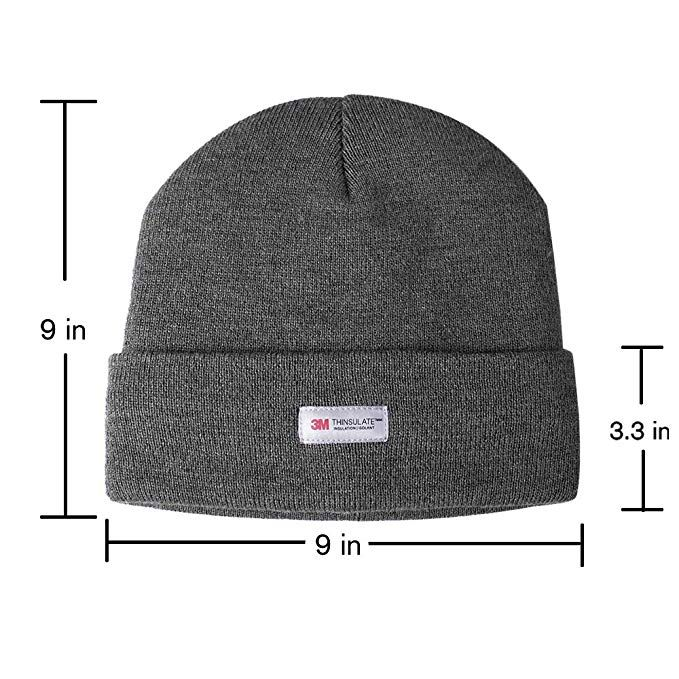 86f82191c Amazon.com: Evridwear Winter 3M Thinsulate Thermal Hat and Warm ...