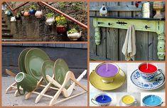 Κήπος Στα Μεσόγεια: 35 πανέξυπνες ιδέες για κατασκευές από παλιά άχρησ...