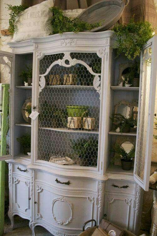 25 Best Ideas About Chicken Wire Cabinets On Pinterest