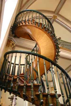Loretto Chapel | Two mysteries surround the spiral staircase in the Loretto
