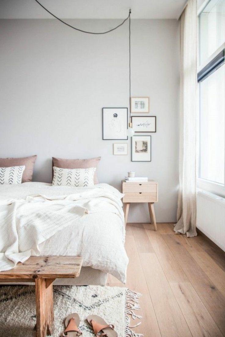 Graue Schlafzimmer Wandfarbe In 100 Beispielen Graue Wand