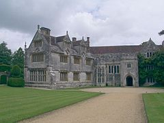 Athelhampton Hall, Dorset, is a Grade I listed 15th-century privately owned country house on 160 acres of parkland.