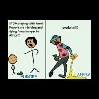 ZA meme | Starving people in Africa vs Skhothane Ultramel | Consumerism | Satire | South Africa