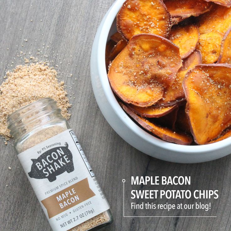 ... of maple bacon, on any foods. Our Maple Bacon Shake combines garlic a