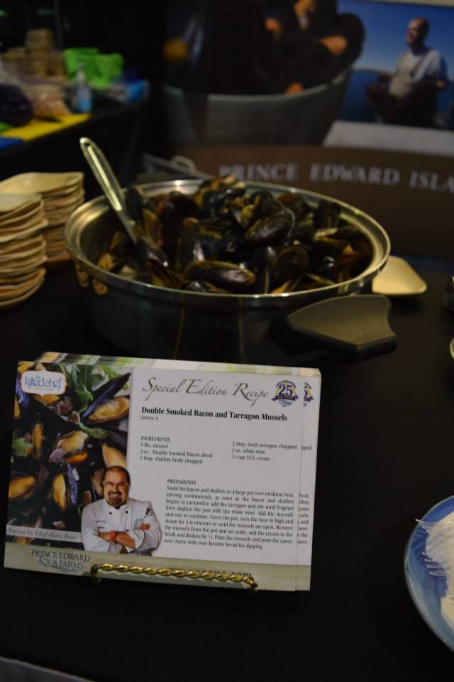 PEI mussels are being savoured by many this week at the 2015 Boston Seafood Show!