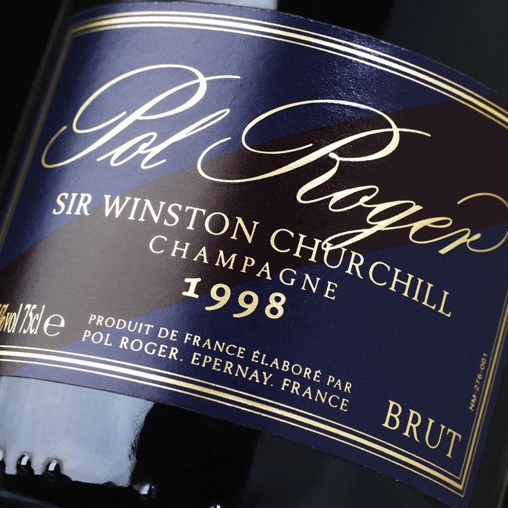 Pol Roger, one of the best champagnes money can buy.