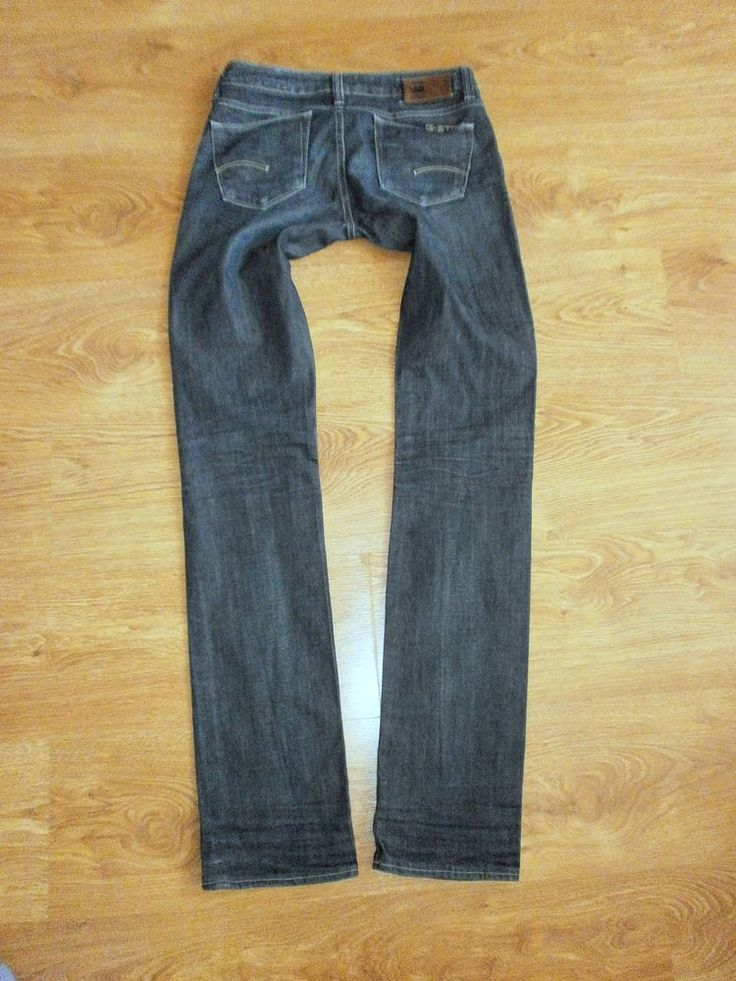 G-STAR RAW Mod. 3301 STRAIGHT WMN Damen Jeans Gr. W26 L34 Skinny Jeanshose