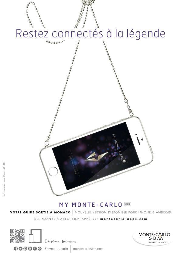 Affiche pour l'application de Monte Carlo, 2014