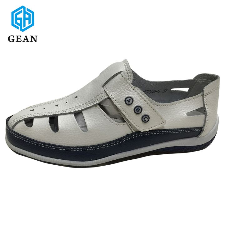High Quality Spanish Brands Low MOQ Genuine Leather Sandals European Trendy Shoes  Women 2017