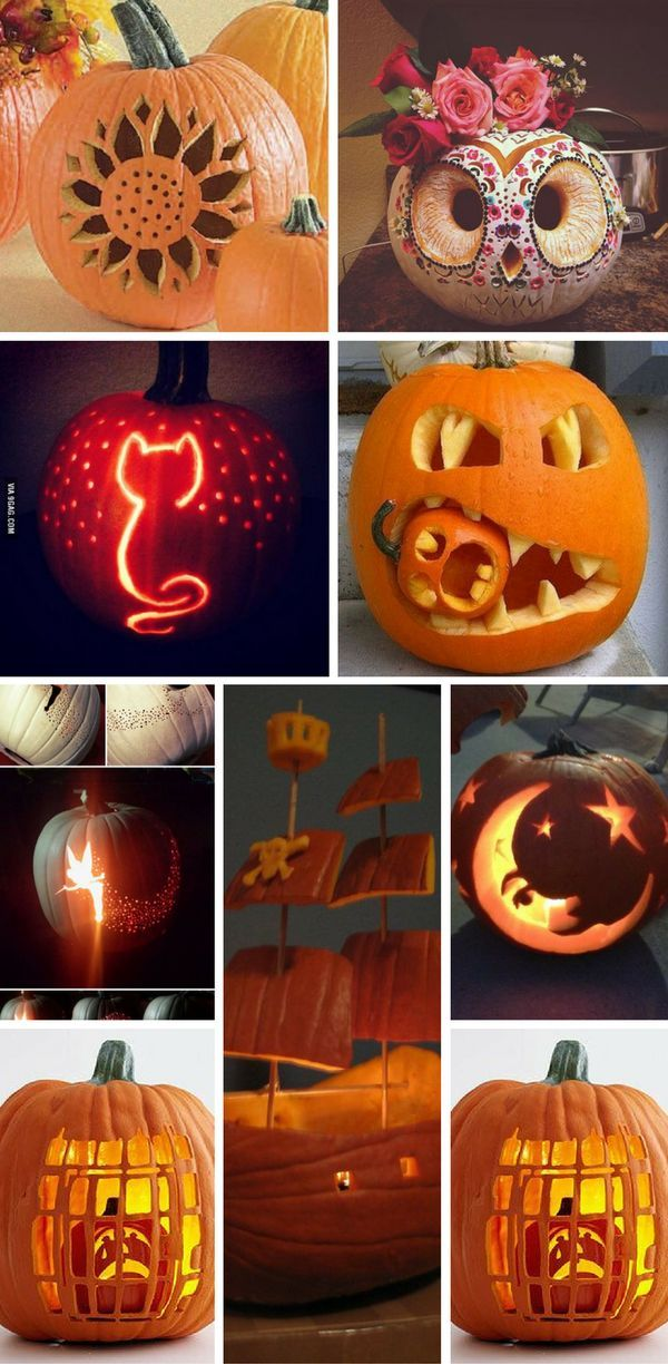Go Mad With These Various Pumpkin Carving Ideas Https Creativemamaoutlet Blogspot Com 2018 1 Halloween Pumpkins Carvings Pumpkin Carving Cute Pumpkin Carving