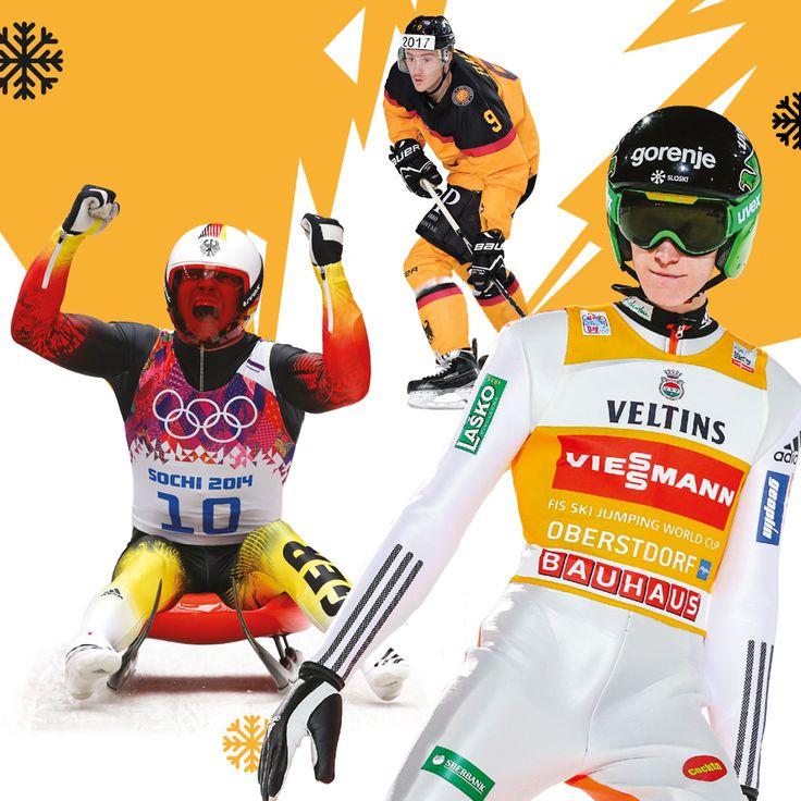 WINTER IS COMING!  Der Winter hat seine eigenen Gesetze & Regeln. Der Wintersport auch! Hier werden wahre Helden geboren - egal ob auf dem Eis, im Tunnel oder auf der Schanze. Was zählt sind nicht immer die Ergebnisse sondern die Entbehrungen, der Schweiß, das Blut und das Zähnezusammenbeißen. Felix Loch, Peter Prevc und Sinan Akdag sind unsere Helden in dieser Saison.