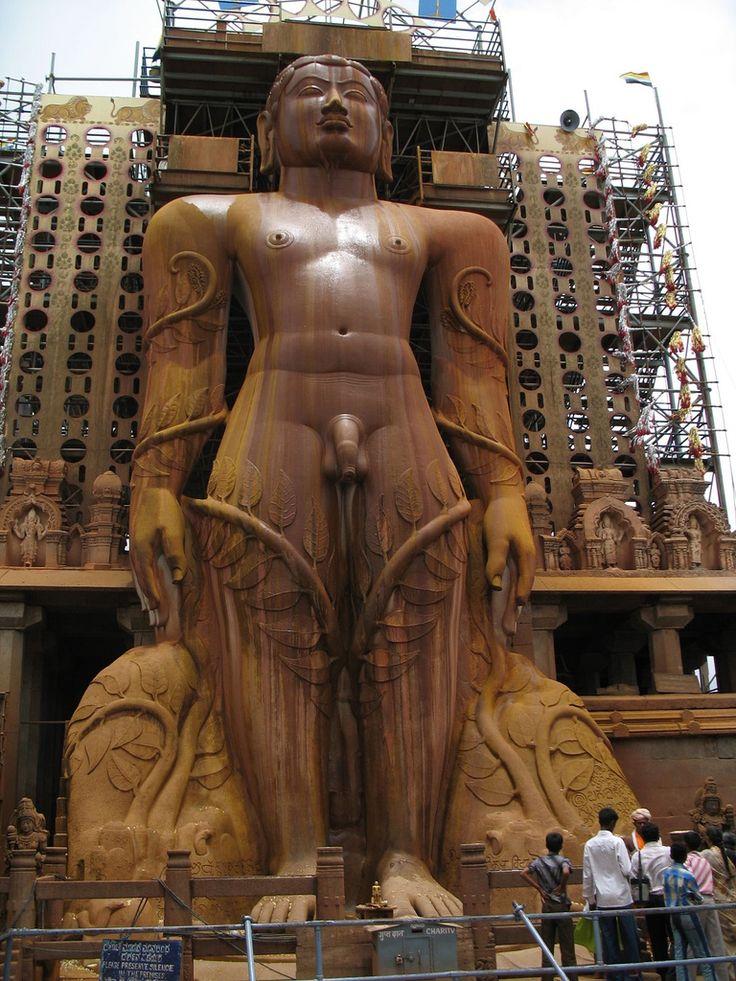 Karnataka, Shravanabelagola - Gomateshwara Statue
