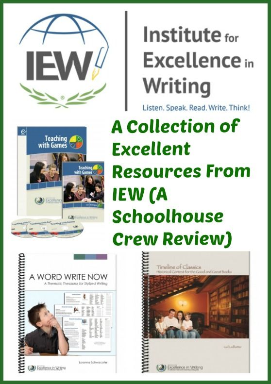institute for excellence in writing used Institute for excellence in writing wordy title okay, so i've raved about it before, but i want to say again that i absolutely love this writing programit is so academically rich with teaching how to write.