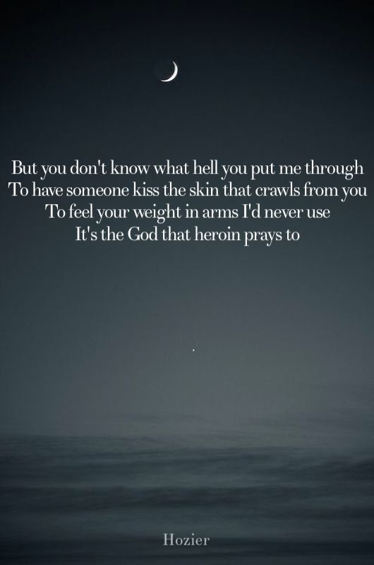 To Be Alone - Hozier Lyrics