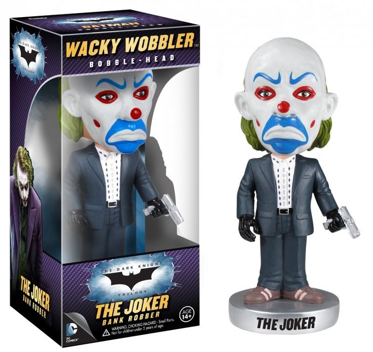 Batman: The Dark Knight Joker Bank Robber Funko Wacky Wobbler