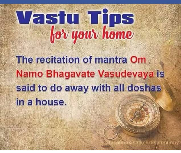 Vastu tips to remove to doshas in your house.