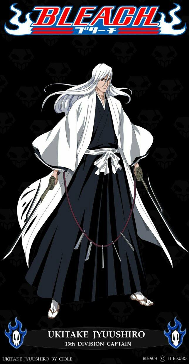Jushiro Ukitake Bleach Anime