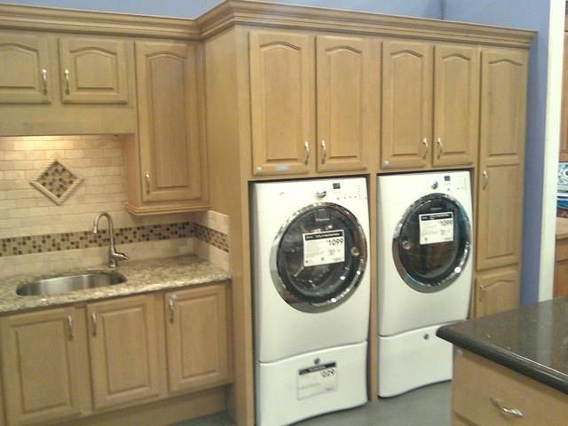 Laundry Cabinets Ideas Laundry Storage Cabinet In W Mocha Tower
