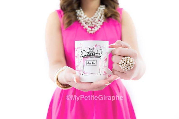 You can buy now Miss Dior Mug International Zazzle http://www.zazzle.co.uk/watercolor_mug-168603173312649217   For Romania Tshirt Factory.ro http://www.tshirt-factory.ro/fashion/miss-dior_5502/   #mug #design #mugdesign #coffee #print #sweet #cute #pink #store #zazzle #zazzlemug #diormug #dior #watercolor #perfume
