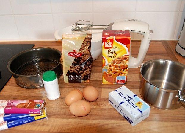 Recept: chocoladetaart