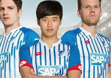 TSG 1899 Hoffenheim 2015/16 Lotto Home Kit