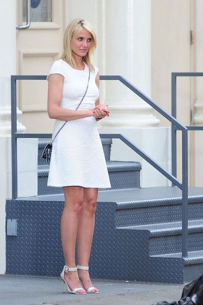 Cameron Diaz Photos - Cameron Diaz Films the 'Other Woman' - Zimbio