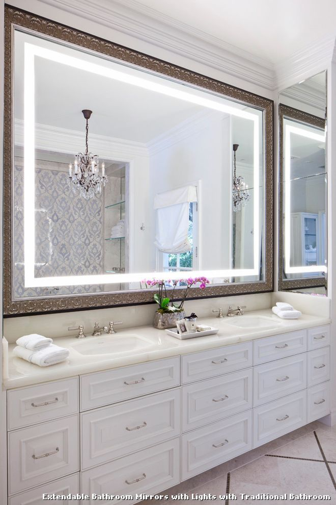 Extendable Bathroom Mirrors With Lights