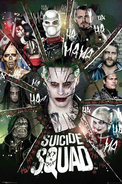 Joker , Harley Quinn, Katana , Enchantress, Capitan Boomerang , El Diablo, Deadshot , Killer Croc