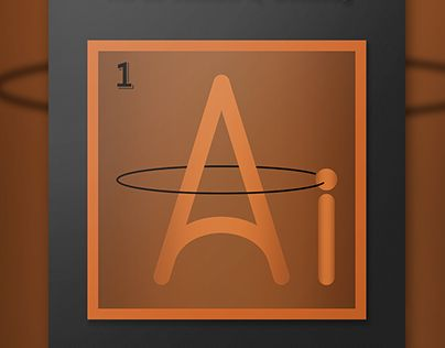 """Check out my @Behance project: """"¹Ai - The Aidrogen"""" https://www.behance.net/gallery/22158273/Ai-The-Aidrogen"""