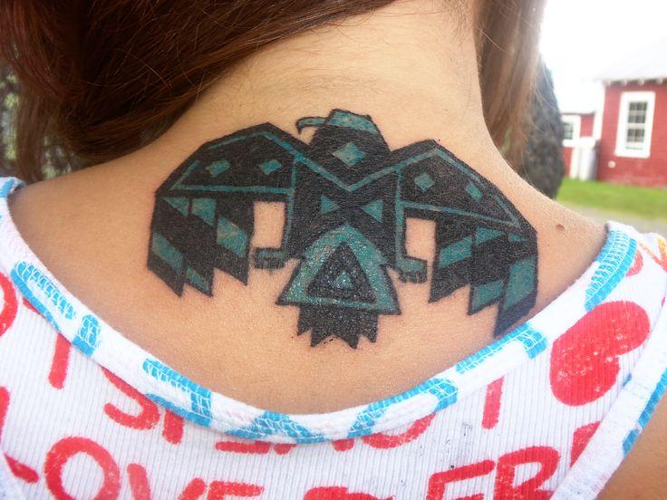 my Native American thunderbird tattoo July 26th 2013 | Ink