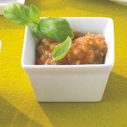 Appel-gember-chutney met sojasaus