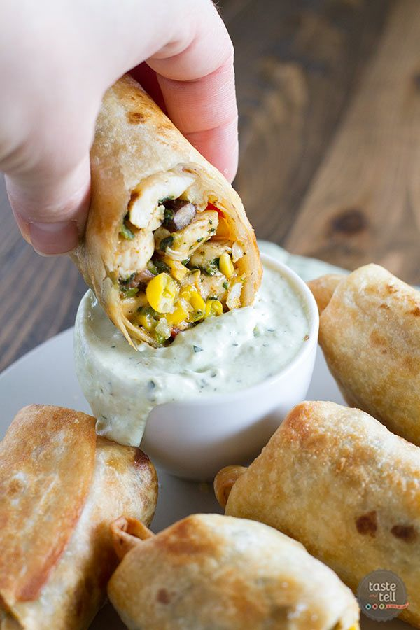 These Southwestern Egg Rolls are an appetizer that will become a fast favorite.