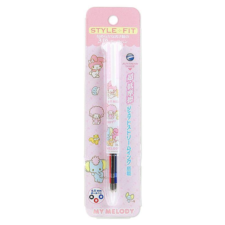 マイメロディ スタイルフィット3色ボールペン【楽天市場】