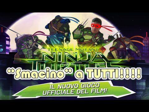 Il videogioco ufficiale del film Ninja Turtles (Tartarughe Ninja) per Android. Cosa succederà al povero Raffaello nelle mie mani?