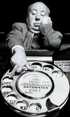 Throwback Thursday | Alfred Hitchcock | Dial M for Murder Prop Telephone | Via rogerwilkerson