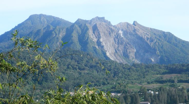 Mt. Sibayak volcano
