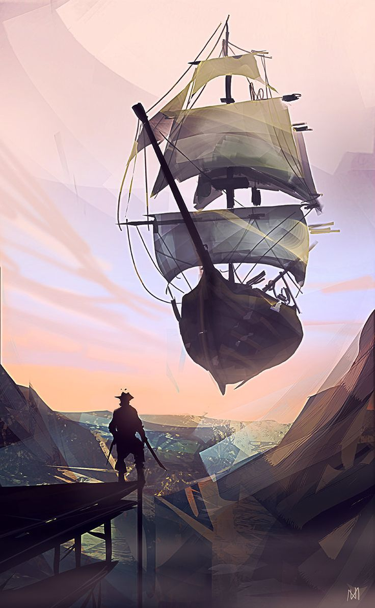 Pirate, Nagy Norbert on ArtStation at https://www.artstation.com/artwork/pirate-1346b058-b604-4d30-9773-24b445782412
