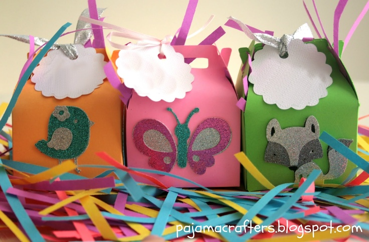 How to make Paper Prize Boxes