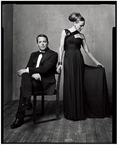 Sarah Jessica Parker & Matthew Broderick - photo by Mark Seliger